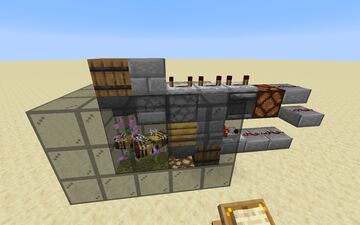 Efficient Honey Bottle Farm Minecraft Map & Project