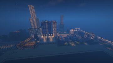 City of Quartz Heaven Minecraft Map & Project