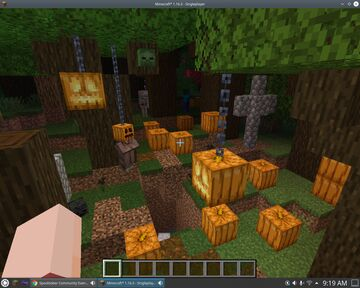 Growing Spook Minecraft Map & Project