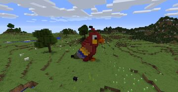 Parrot Minecraft Map & Project
