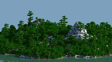 Agodia - custom map (worldpainter) Minecraft Map & Project