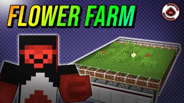 How to build a Minecraft Flower Farm Minecraft Map & Project