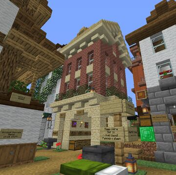 The Happy House Minecraft Map & Project