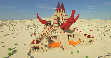 The Burning Desert - Memorial Minecraft Map & Project