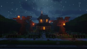 Happy HALLO-ween!!! Minecraft Map & Project