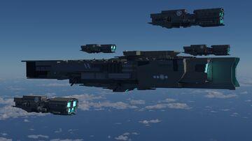 [Vindictus Ove] Zaudai Class battleship Minecraft Map & Project