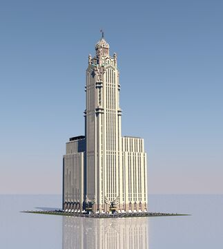 The Columbia Building | New Limesville City | NL | UCS Minecraft Map & Project