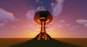 Small Mushroom Cloud Shop Design Minecraft Map & Project
