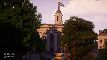 Georgian Town Hall Minecraft Map & Project