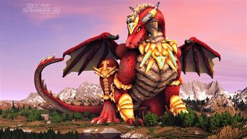 Scarlet Dragoness Minecraft Map & Project
