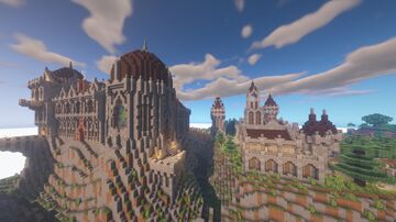 Sliq's Survival Castle Minecraft Map & Project