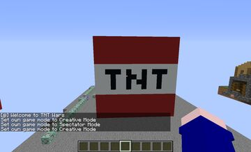 Modded TNT wars (Made by Harry) Minecraft Map & Project