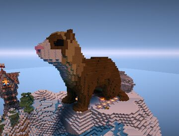 Ferret 3d / Hurón by Tifa291 Minecraft Map & Project
