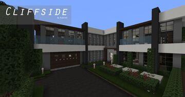 Cliffside - A Modern Mansion Minecraft Map & Project