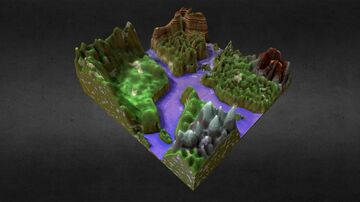 Worldpainter map [FREE DOWNLOAD] Minecraft Map & Project
