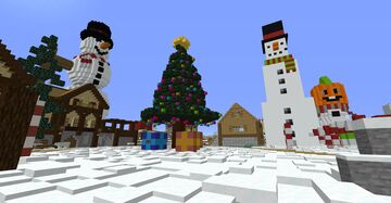 VW:RLD christmas community map Minecraft Map & Project