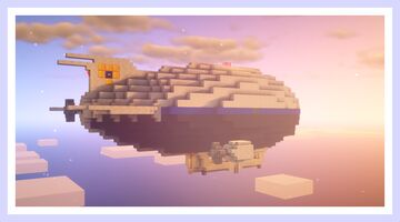 Police Airship/Blimp Minecraft Map & Project