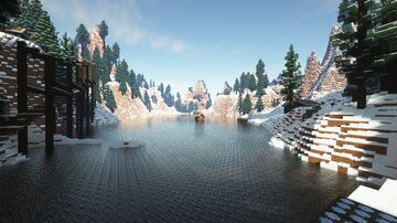 The Pines Vacation Home/ Camp Minecraft Map & Project