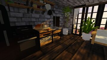 morning apartment interior Minecraft Map & Project
