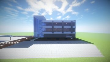 Modern Looking Carpark 50x50 [Schematic] Minecraft Map & Project
