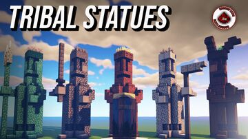 How to build Tribal Statues in Minecraft Minecraft Map & Project