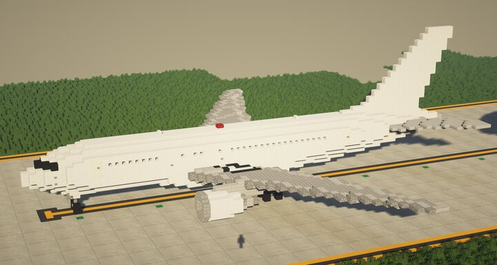 Popular Map : Boeing 767-200 1.5:1 Scale