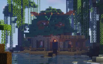 ༺ Fishing Hut ༻ | The Loft MC Minecraft Map & Project