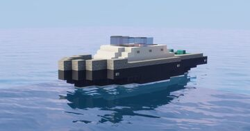 Leisure boat Minecraft Map & Project