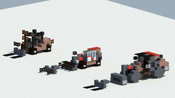 Manitou farm equipment pack [With download] Minecraft Map & Project