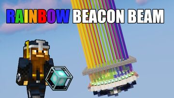 Beacon Rainbow Circle Minecraft Map & Project