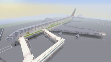Alitalia Airbus A390-900 Minecraft Map & Project