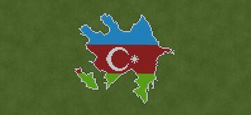Map of Azerbaijan | Azərbaycan xəritəsi Minecraft Map & Project