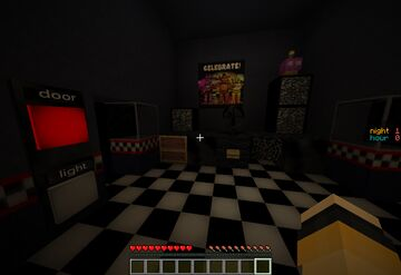 [1.14] (Full) Five Nights At Freddy's 1 game remade in minecraft Minecraft Map & Project