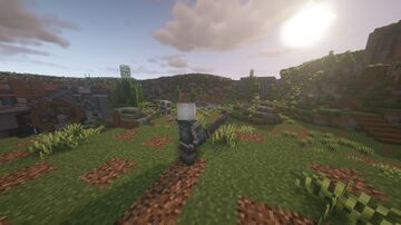 1.16.2 /- NieR: Replicant/Gestalt - (With Resource Pack and Shader Pack) Minecraft Map & Project
