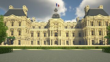 Palais du Luxembourg / Luxembourg Palace Minecraft Map & Project