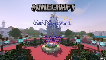 Walt Disney World 2000 Minecraft Map & Project