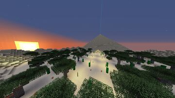$ Pyramide Escape 1 $ Minecraft Map & Project