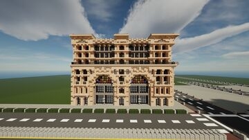 The Lehmann Building on 10 Dream Ave   New Limesville City   NL   UCS Minecraft Map & Project