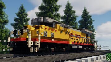GE AC4400CW | Union Pacific Minecraft Map & Project