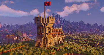 Village Church REMAKE Minecraft Map & Project