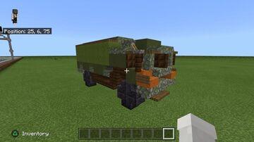 MAN 6 Tonne Minecraft Map & Project