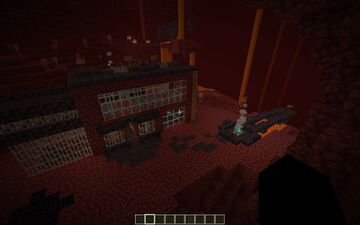 1.16 Nether House Minecraft Map & Project