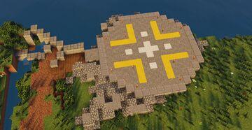 Jurassic Park Helipad Minecraft Map & Project