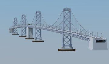 San Francisco Bay Bridge Minecraft Map & Project