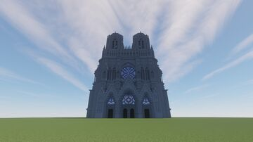 Notre-Dame de Reims Minecraft Map & Project