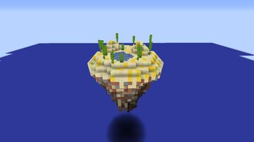 Desert Floating Island Minecraft Map & Project