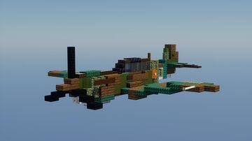 p40e-1 Warhawk Minecraft Map & Project