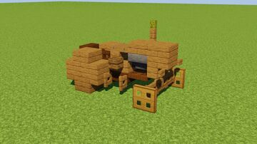 Rusty Tractor Minecraft Map & Project