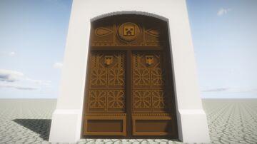 Cool door Little tiles Minecraft Map & Project