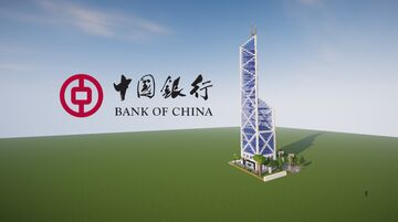 Bank Of China Tower - (中銀大廈) Minecraft Map & Project